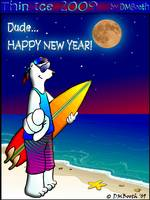 Polar Bear New Year Wish