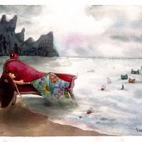 Ata-6822 Art Prints & Posters by Leethan Navadara