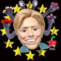 hillary the scary toy