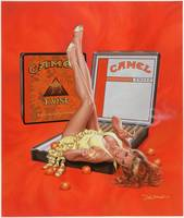 Camel Orange Twist ad
