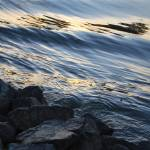 """""""american river water with rocks"""" by lwoodburn"""