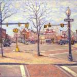 """Union Square, Allston Village"" by AngeloJAversa"