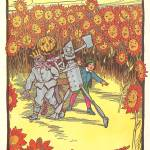 """The Land of Oz: Giant Smiling Sunflowers"" by yesteryear"