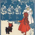 """The Wizard of Oz: Dorothy meets the Munchkins"" by yesteryear"