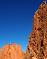 Blue Sky and Red Rock in Colorado