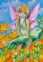 BIG EYE FAIRY GORDON BRUCE ART