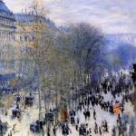 """Boulevard des Capucines"" by ArtLoversOnline"