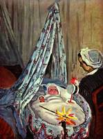 Jean Monet in the cradle