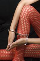 Fishnet Stockings and Cuffs