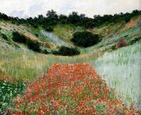Poppy Field In A_Hollow Near Giverny 1885