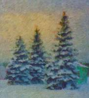 Michigan Trees_Painting
