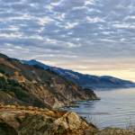 """Cloudy Coastal California Cliffs"" by digitalvisions"