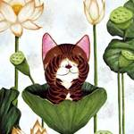 """Cat Art by catmaSutra - See No Evil"" by catmasutra"
