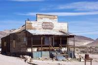 Building in Rhyolite Nevada.