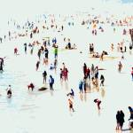 """A Day at the Beach VIII - Abstract"" by tomhawkins"