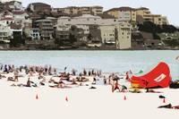 A Day at the Beach XV, Bondi Beach, Australia