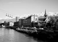 Grenoble on the Isere