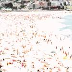 """A Day at the Beach XII, Bondi Beach Christmas 2005"" by tomhawkins"