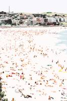 A Day at the Beach XII, Bondi Beach Christmas 2005