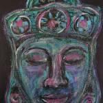"""Psychedelic Buddha"" by HeidiZeile"