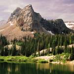 """Lake Blanche with Sundial Peak"" by flowphotography"