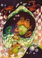 Tell Me A Story of Fake Frogs by Sonya P.