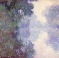 The Seine at Giverny morning mist