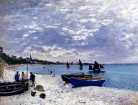 The_Beach_At_Sainte_Adresse