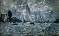The_Boats_Regatta_At_Argenteuil