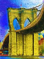 Brooklyn Bridgen Fauvist DSC02414