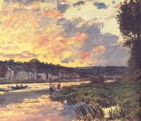 The_Seine_at_Bougival_in_the_Evening