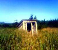 Abandoned Outhouse