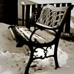 """006x2009 - Winter Bench"" by Geekgirly"