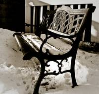 006x2009 - Winter Bench