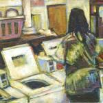"""""""Tie-Dye Lady"""" by artistfaye"""
