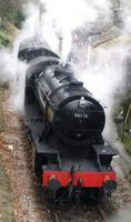 Steam Train 90733