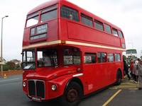 Routemaster RM1568 London Bus