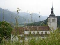 Church in Gruyere