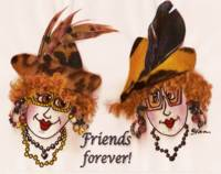 Whimsical Friends Forever