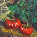 """Garden Tomatoes"" by nadinerippelmeyer"