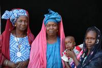 Pulaar Women with Baby
