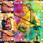 """Peace Love Harp & Soul"" by artistfaye"