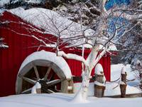 Snow Covered Wheelmill