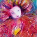 """VENETIAN MASQUERADE CHARACTERS  / MASK IN RED"" by BulganLumini"