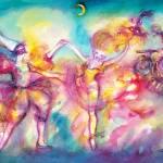 """Venetian Masquerade Party Dance And Music"" by BulganLumini"