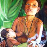 """Matts Mentawai Mother"" by philgoodrich"