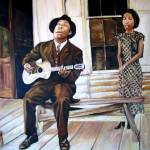 """Bluesman and Muse"" by philgoodrich"
