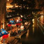 """Riverwalk: San Antonio Night"" by PaulHuchton"