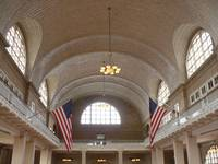 Registry Room on Ellis Island