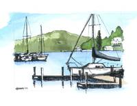 MainSail- Sunapee Harbor, NH